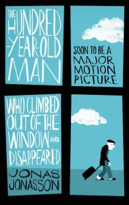 couverture de The hundred year old man who climbed out the window and disappeared de Jonas Jonasson