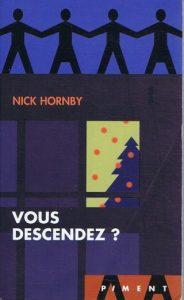 Couverture de Vous descendez de Nick Hornby