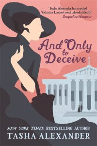 Couverture de And Only to Deceive de Tasha Alexander