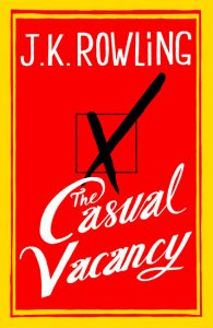 couverture de The casual vacancy de JK Rowling