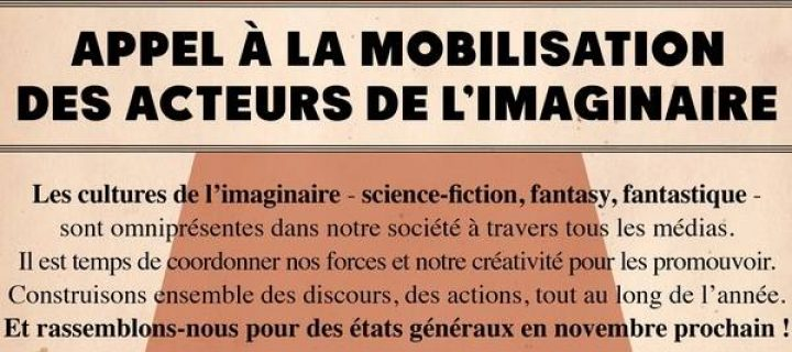 Interview L'appel de l'Imaginaire