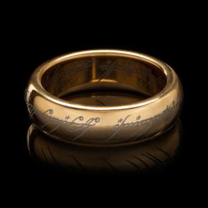 bague anneau unique seigneur des anneaux