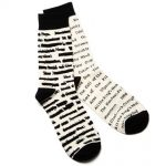 chaussettes banned books
