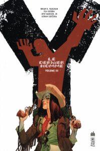 couverture de Y lde dernier homme integrale 3 de Brian K Vaughan et Pia Guerra