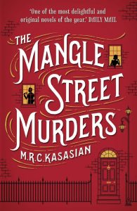 couverture de The mangle street murders de MRC Kasasian