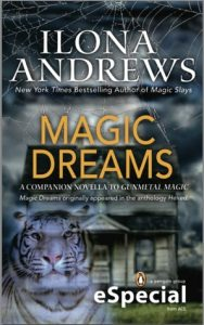 Couverture de Magic Dreams d'Ilona Andrews