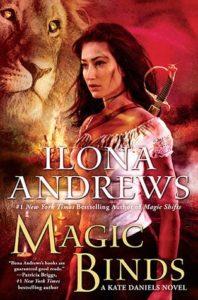 couverture de Magic binds de Ilona Andrews