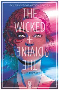 couverture de The wicked + the divine de Gillen et McKelvie