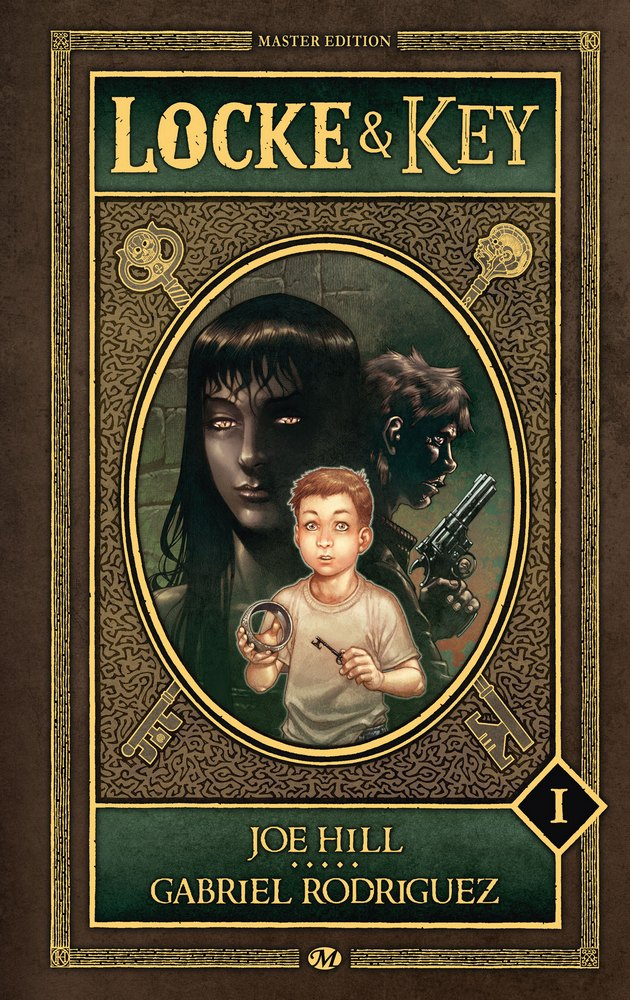couverture de locke & Key de Joe Hill et Gabriel Rodriguez