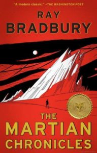 Couverture de Martian Chronicles de Ray Bradbury