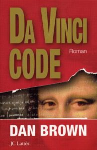 couverture de da vinci code de dan brown