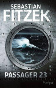 Couverte de Passager 23 de Sebastian Fitzek