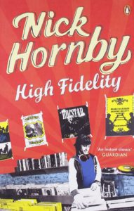couverture de high fidelity de Nick Hornby