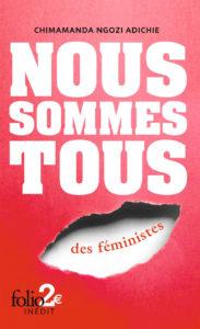couverture de Nous sommes tous des feministes de Chimamanda Ngozi Adichie