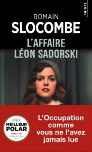couverture de l'affaire leon sadorski de romain slocombe