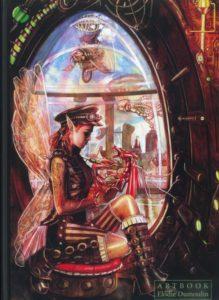 couverture du artbook de elodie dumoulin