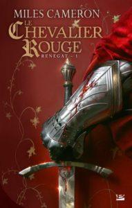 couverture de Le chevalier rouge de miles cameron