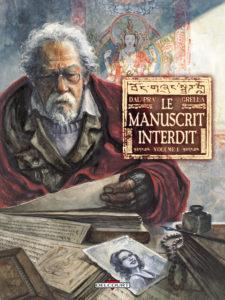 couverture de Le manuscrit interdit, T1, de Dal'Pra et Grella