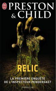 couverture du roman Relic de Preson et Child