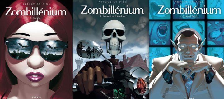 Zombillénium, Tomes 1 à 3 / Arthur de Pins