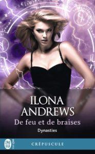 couverture du roman De feu et de braises de Ilona Andrews