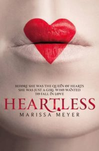 Couverture de Heartless de Marissa Meyer