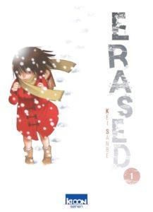 couverture du tome 1 du manga Erased de Kei Sanbe