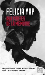 couverture du roman Aux portes de la mémoire de Felicia Yap