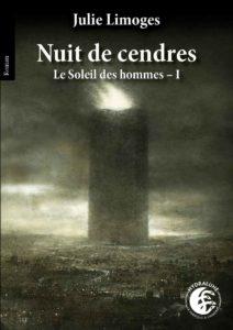 couverture du roman Nuit de cendres de Julie Limoges