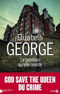 Couverture de Lynley & Havers, tome 20, La punition qu'elle mérite, d'Elizabeth George