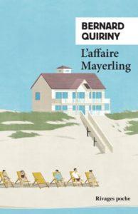 couverture du roman l affaire mayerling de bernard quiriny