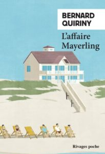 chronique du roman L'affaire Mayerling de Bernard Quiriny