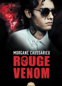 Couverture de Rouge Venom de Morgane Caussarieu