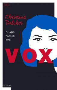 Couverture de Vox de Christina Dalcher