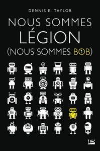 couverture du roman nous sommes legion de dennis e. taylor