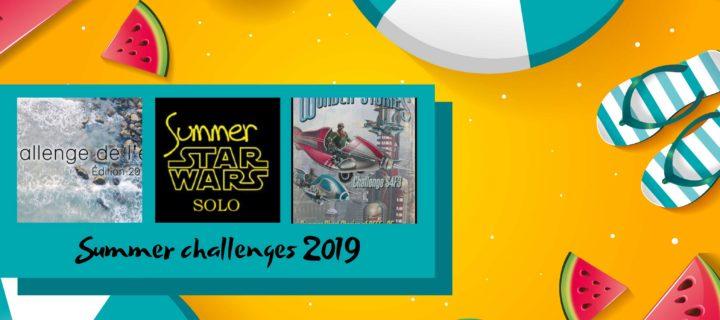 Summer challenges 2019