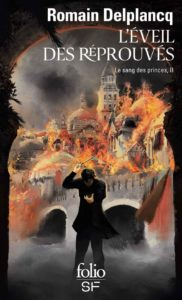 couverture du roman l'éveil des réprouvés de romain delplancq