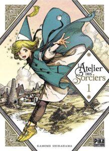 couverture du manga l'atelier des sorciers de Kamome Shirahama