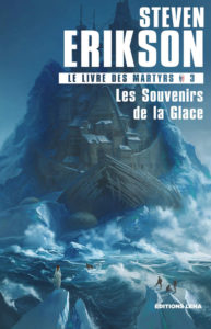 couverture du roman Les souvenirs de la glace de steven erikson