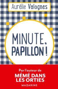 Couverture de Minute papillon de Aurélie Valognes