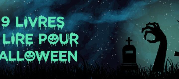 9 livres à lire pour Halloween