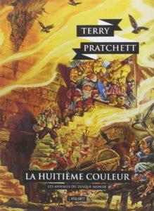 couverture du roman la 8e couleur de terry pratchett