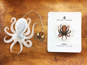 sachets de the ocean teabag