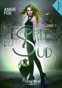 Couverture de Verity Long, tome 1 Esprits du sud, d'Angie Fox
