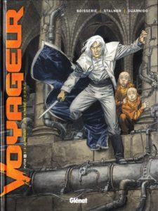 couverture de la bd voyageur tome 1 de Boisserie et Stalner