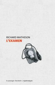Couverture de L'examen de Richard Matheson