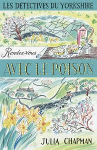couverture du roman rendez-vous avec le poison de julia chapman