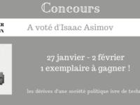 Concours A voté d'Isaac Asimov