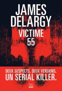 couverture du roman victime 55 de james delargy