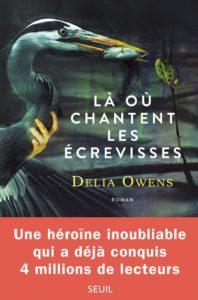 couverture du roman la ou chantent les ecrevisses de delia owens